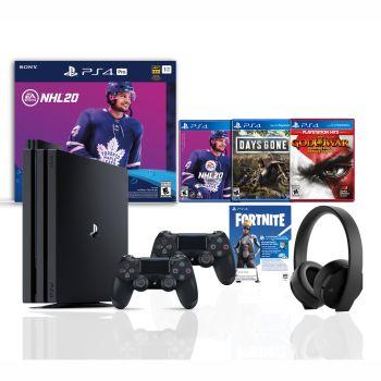 PlayStation 4 Pro 1TB NHL 20 Bundle