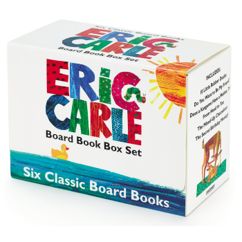 ERIC CARLE SIX CLASSIC BOARD BOOKS BOX SET by Eric Carle
