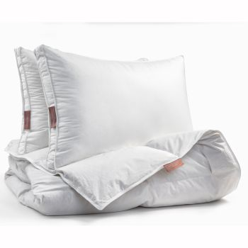 Dolce Bianca Microgel Duvet and Pillows Set - Queen