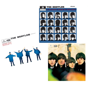 The Early Beatles Vinyl Bundle - A Hard Day's Night, Beatles For Sale, and Help!