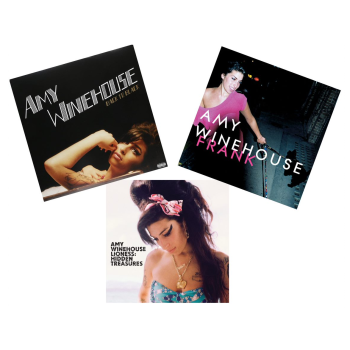 The Amy Winehouse Vinyl Collection - Back To Black, Frank and Lioness: Hidden Treasures
