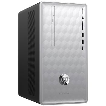 HP Pavilion Desktop PC 590-p0099  with HP 2-Year Pickup and Return Desktop Service (Monitor Not Included)
