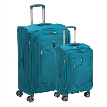 Delsey Hyperglide 2-Piece Luggage Set - Teal