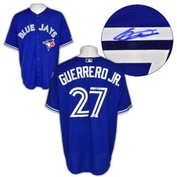 A.J. Sportsworld Vladimir Guerrero Jr Toronto Blue Jays Autographed Replica MLB Baseball Jersey