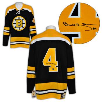 A.J. Sportsworld Bobby Orr Boston Bruins Autographed Fanatics Vintage Hockey Jersey