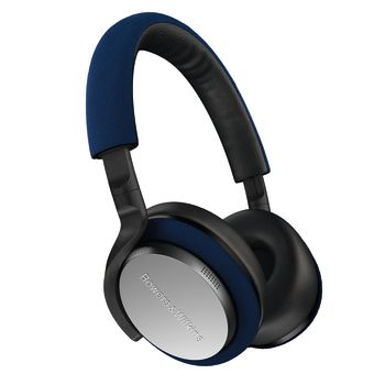 Bowers & Wilkins PX5 On-Ear Noise Cancelling Wireless Headphones - Blue