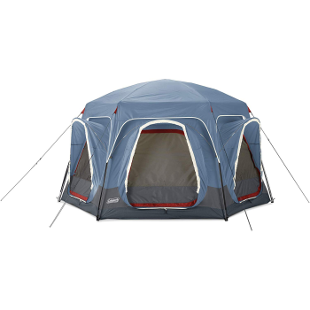 Coleman 6-Person Connecting Modular Tent System with Fast Pitch Setup - Blue