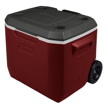 Coleman 50-Quart Xtreme® 5 Wheeled Cooler - Mahogany