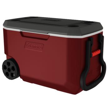 Coleman 62-Quart Xtreme® 5 Wheeled Cooler - Mahogany
