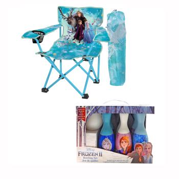 Danawares Frozen II Camp Chair & Bowling Set