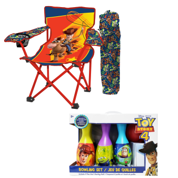 Danawares Toy Story 4 Camp Chair & Bowling Set