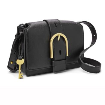 Fossil Wiley Top Handle Crossbody - Black