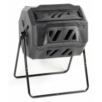 KoolScapes 42-Gallon Rotary 2 Chamber Composter