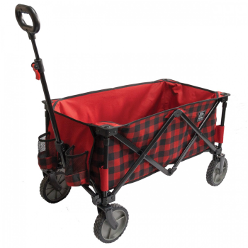 Kuma Bear Buggy Cart - Red/Black