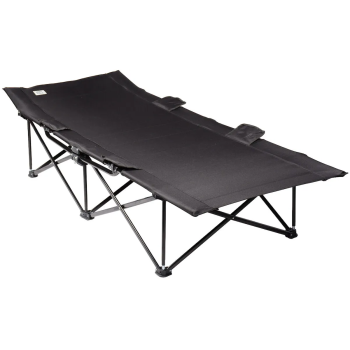 Kuma Big Bear Camp Cot - Black