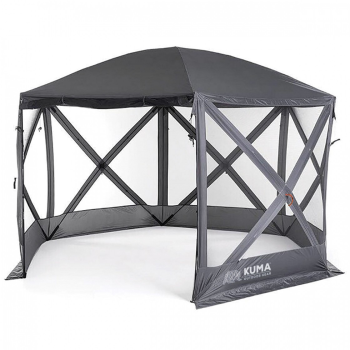 Kuma Bear Den Gazebo - Grey