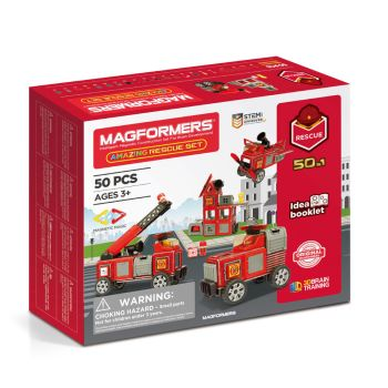 Magformers® Amazing Rescue 50-Piece Set