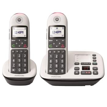 Motorola Expandable Cordless Phone System - 2 Handsets