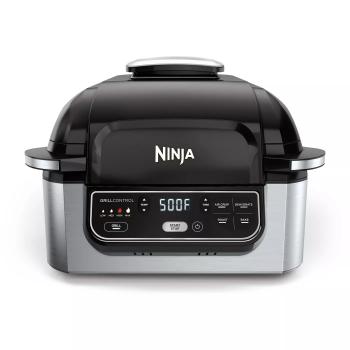 Ninja® Foodi® 4-in-1 Indoor Grill with 4-Quart Air Fryer