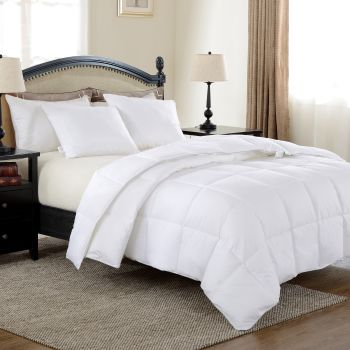North Home Down Alternative Duvet with 230TC Cotton Shell - King - 53oz