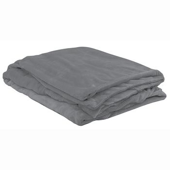 ObusForme® Deluxe Weighted Blanket - Grey - 12lbs