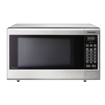 Panasonic Mid-Size Genius® Inverter® Stainless Steel Microwave