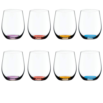 Riedel Volume 2 Happy O Collection Wine Tumbler - Set of 8