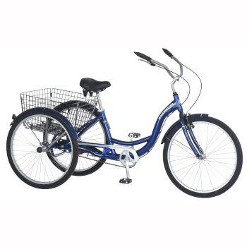Roadmaster Hampton Adult Tricycle - 26'' - Blue