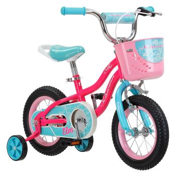 Schwinn Elm Girl's Bike with SmartStart - 12'' Wheels - Pink