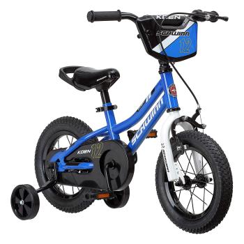 Schwinn Koen Boy's Bike with SmartStart - 12'' Wheels - Blue