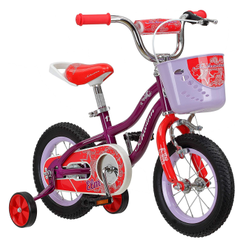 Schwinn Elm Girl's Bike with SmartStart- 16'' Wheels - Purple