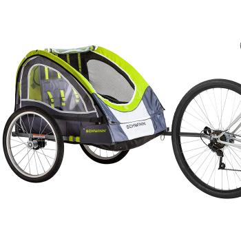 Schwinn Lumina Reflective Double Bike Trailer