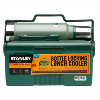Stanley Adventure Heritage Cooler + Bottle Set - Green