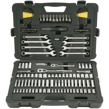 Stanley® Tools 145-Piece 1/4 in & 3/8 in Drive Mechanic's Tool Set