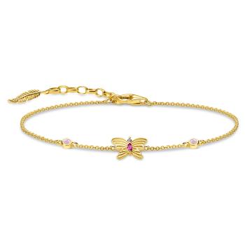 Thomas Sabo Butterfly Bracelet - Gold