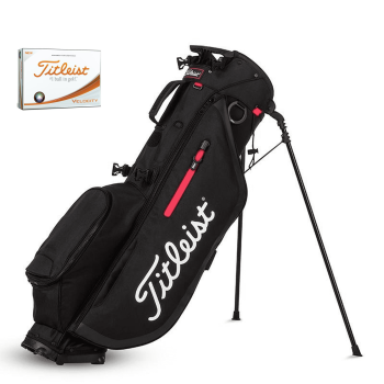 Titleist Players 4 Stand Bag with Titleist Velocity Golf Balls
