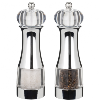 "Trudeau 7"" Malia Salt and Pepper Mill Set"