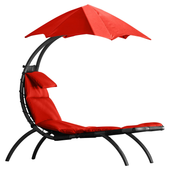Vivere The Original Dream Lounger - Cherry Red