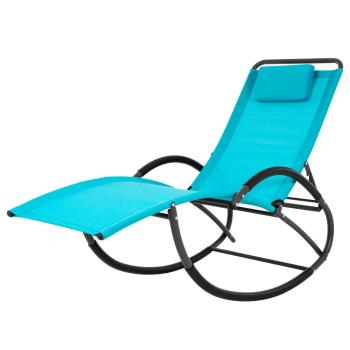 Vivere Wave Laze Chair - True Turquoise