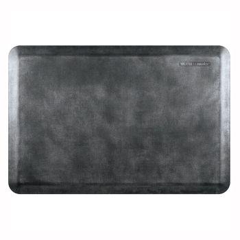 WellnessMats® Premium Anti-Fatigue Mat - Linen Collection - Onyx - 3' x 2'