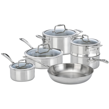 Zwilling® Vistaclad 10-Piece Cookware Set