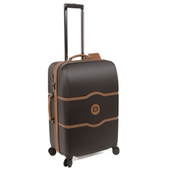 Delsey Chatelet Plus 24'' Spinner Trolley - Brown