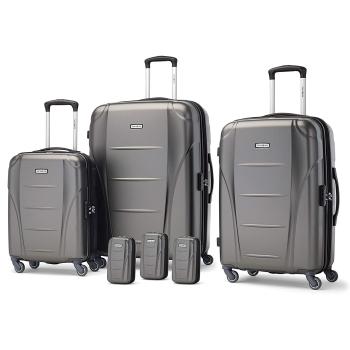 Samsonite Winfield NXT 6 Piece Luggage Set - Charcoal
