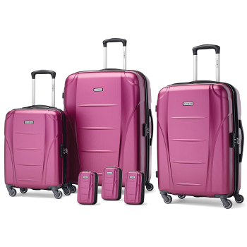 Samsonite Winfield NXT 6 Piece Luggage Set - Solar Rose