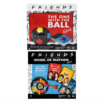Friends The Television Series Game Bundle: The One With The Ball & Wheel of Mayhem Game
