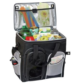 Koolatron Soft-Sided 26-Quart 12 Volt Plug In Portable Travel Cooler