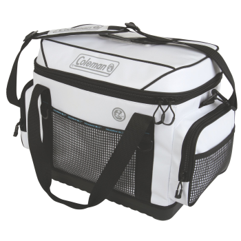 Coleman 42 Can 36-Hour Marine Soft Cooler - White