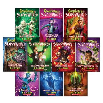 Goosebumps Slappyworld: 10 Book Bundle by R.L. Stine