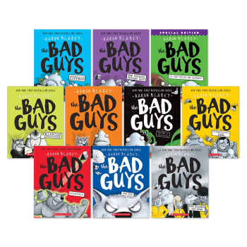 The Bad Guys: 10 Book Bundle