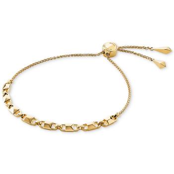 Michael Kors Mercer Link Slider Bracelet - Gold